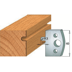 Комплекты ножей и ограничителей серии 690/691 #010 CMT Ножи и ограничители для фрез 40 мм Ножи