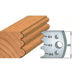 Комплекты ножей и ограничителей серии 690/691 #090 CMT Ножи и ограничители для фрез 40 мм Ножи