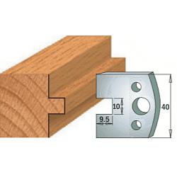 Комплекты ножей и ограничителей серии 690/691 #092 CMT Ножи и ограничители для фрез 40 мм Ножи