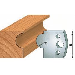 Комплекты ножей и ограничителей серии 690/691 #093 CMT Ножи и ограничители для фрез 40 мм Ножи