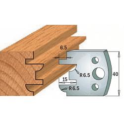 Комплекты ножей и ограничителей серии 690/691 #096 CMT Ножи и ограничители для фрез 40 мм Ножи