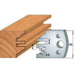 Комплекты ножей и ограничителей серии 690/691 #097 CMT Ножи и ограничители для фрез 40 мм Ножи