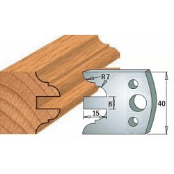 Комплекты ножей и ограничителей серии 690/691 #098 CMT Ножи и ограничители для фрез 40 мм Ножи