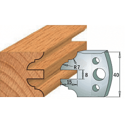 Комплекты ножей и ограничителей серии 690/691 #099 CMT Ножи и ограничители для фрез 40 мм Ножи
