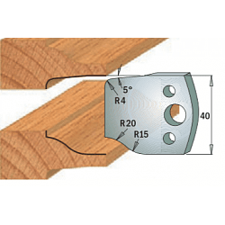 Комплекты ножей и ограничителей серии 690/691 #100 CMT Ножи и ограничители для фрез 40 мм Ножи