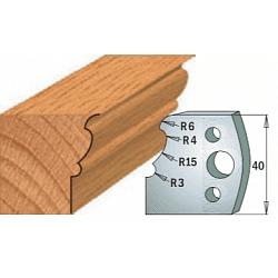 Комплекты ножей и ограничителей серии 690/691 #101 CMT Ножи и ограничители для фрез 40 мм Ножи