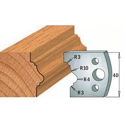 Комплекты ножей и ограничителей серии 690/691 #102 CMT Ножи и ограничители для фрез 40 мм Ножи