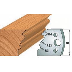 Комплекты ножей и ограничителей серии 690/691 #103 CMT Ножи и ограничители для фрез 40 мм Ножи