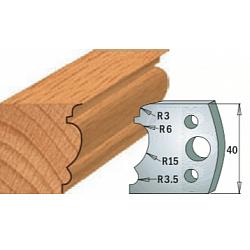 Комплекты ножей и ограничителей серии 690/691 #104 CMT Ножи и ограничители для фрез 40 мм Ножи