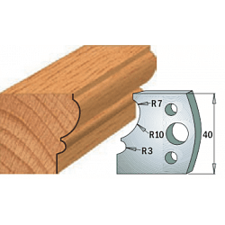 Комплекты ножей и ограничителей серии 690/691 #105 CMT Ножи и ограничители для фрез 40 мм Ножи