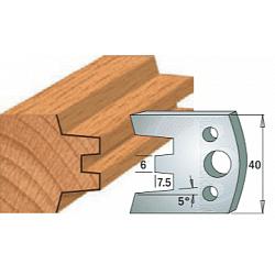 Комплекты ножей и ограничителей серии 690/691 #113 CMT Ножи и ограничители для фрез 40 мм Ножи
