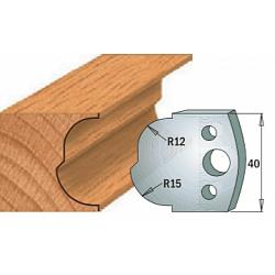 Комплекты ножей и ограничителей серии 690/691 #115 CMT Ножи и ограничители для фрез 40 мм Ножи